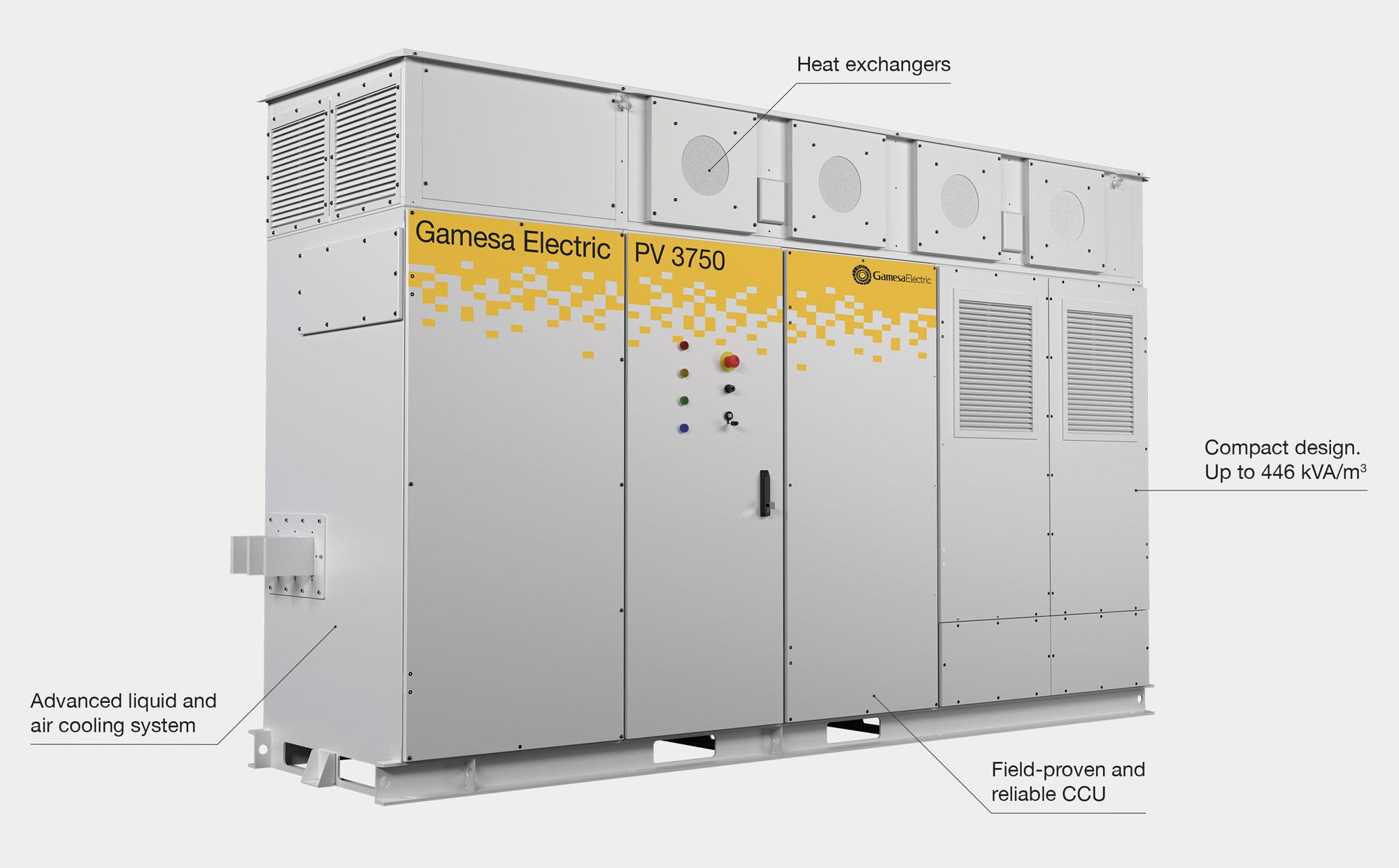 Gamesa Electric PV 3750