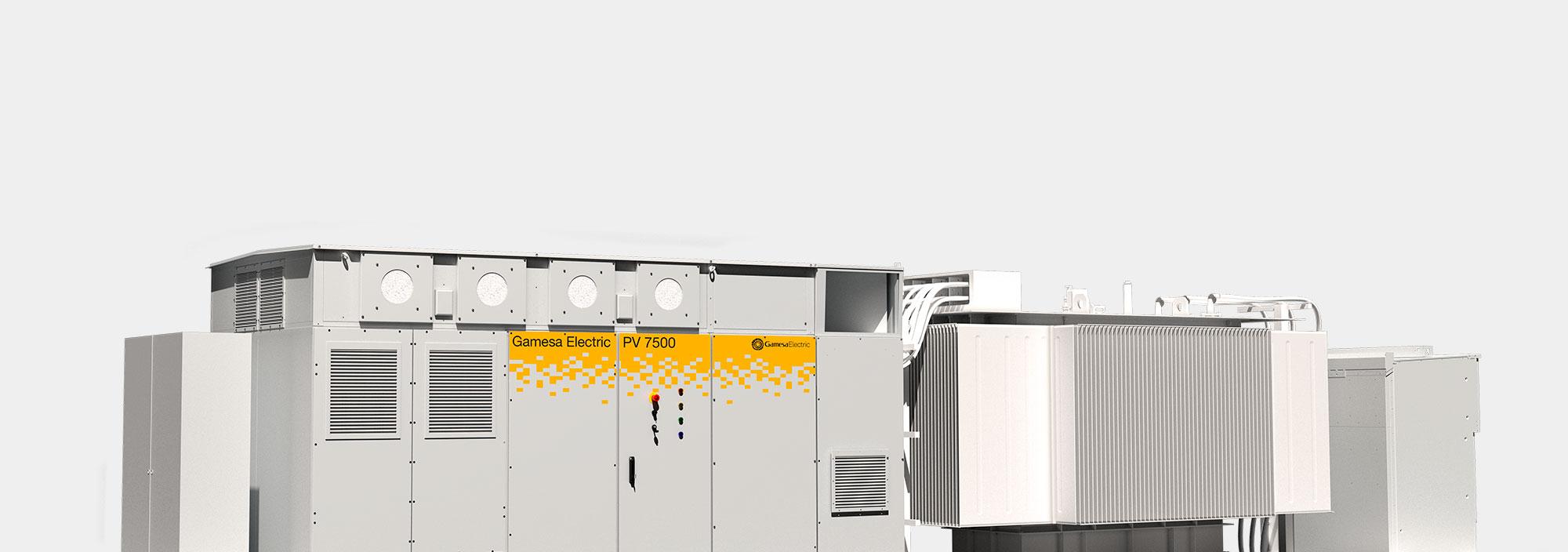 Gamesa Electric PV Station 7500