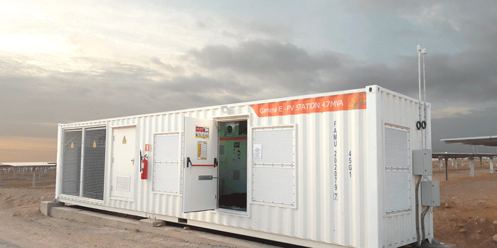 Central Solar Intipampa solar PV plant