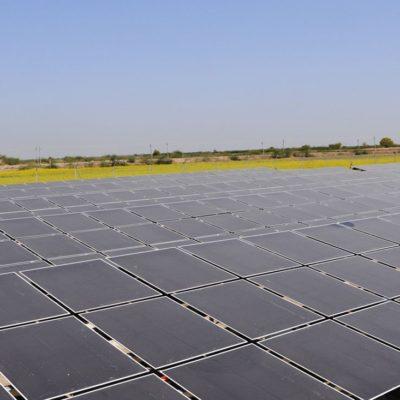 La Fernandina solar PV plant