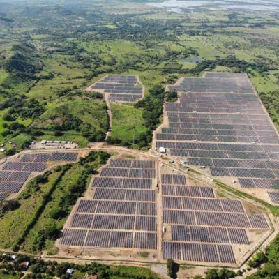 Los Prados solar PV plant