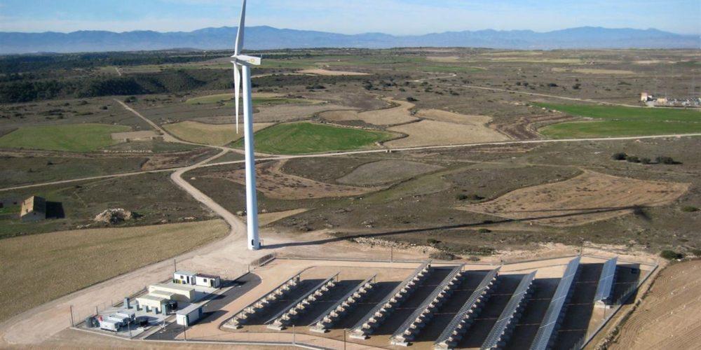 Gamesa Electric at La Plana Hybrid Pilot Plant