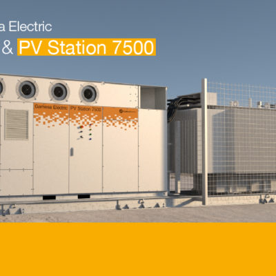 Gamesa Electric introduces the new version for desert environments of its latest PV 3750 inverter at WFES 2020 in Abu Dhabi