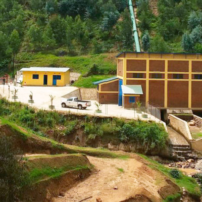 We have been awarded a supply contract for a hydropower plant in Rwanda