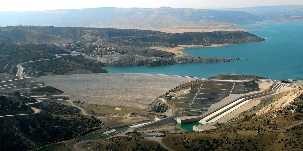 Three Gamesa Electric hydro generators for Süreyyabey hydropower plant