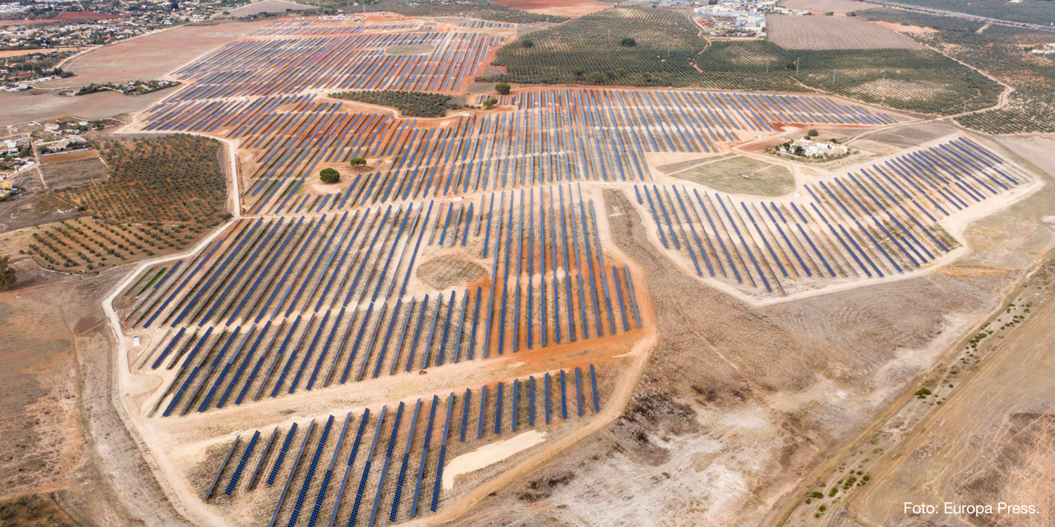 Commissioning of Zafra PV Plant