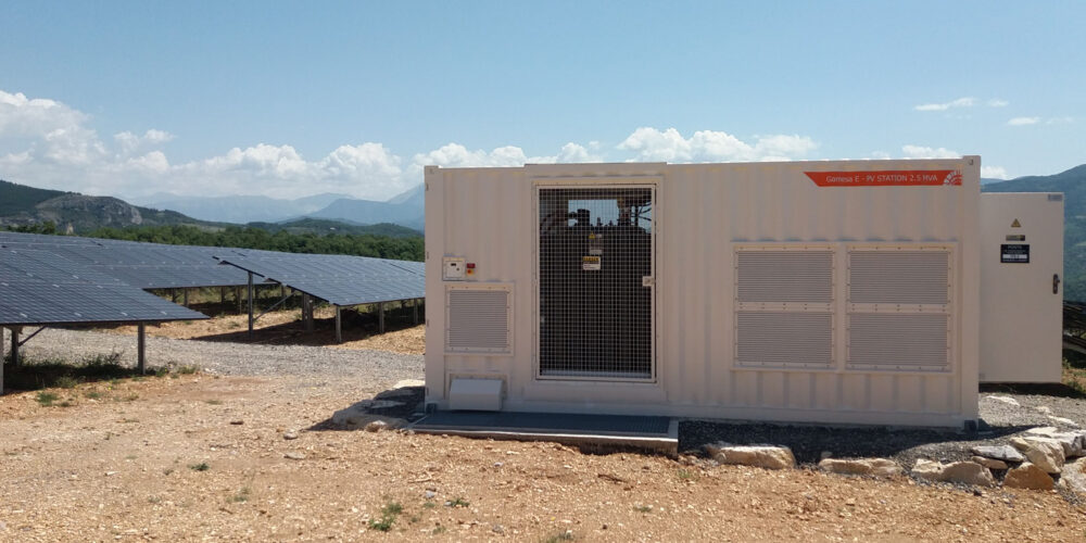 Commissioning of Dignes-les-Bains, our first PV reference in France (5 MWac)