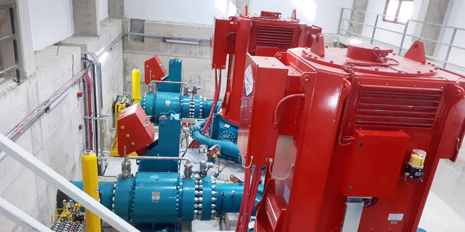Commissioning of 13 MW Güce HPP in Turkey